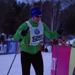 Skiing 90 km - Anders Nyberg (15093)