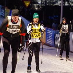 Skiing 90 km - Johan Holgersson (15265), Cecilia Massi (17356)