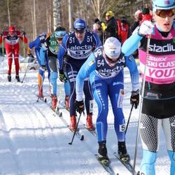 Skiing 90 km - Lars Suther (29), Fredrik Byström (51)