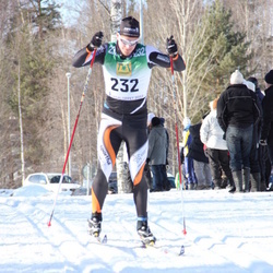 Skiing 90 km - Adam Larsson (232)