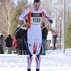 Skiing 90 km - Christian Gjertveit (1135)
