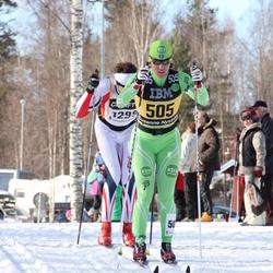 Skiing 90 km - Susanne Nyström (505), Aleksander Larsen Svartsund (1299)