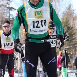 Skiing 90 km - Anders Wånell (1211), Andreas Johansson (1450)