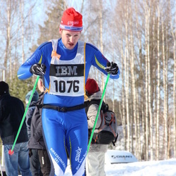 Skiing 90 km - Henrik Magnusson (1076)