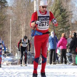 Skiing 90 km - Elis Weslien (2673)