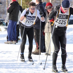 Skiing 90 km - Daniel Hansson (2175), Per Christian Brekke Sjoli (2325)