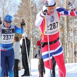 Skiing 90 km - Christian Stabell Eriksen (2287), Jonas Löwendahl (2372)