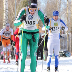 Skiing 90 km - Anders Hübinette (1006), Fredrik Norman (1245), Anders Backéus (2631)
