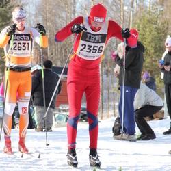 Skiing 90 km - Nils Harald Vinsvold (2356), Anders Backéus (2631)