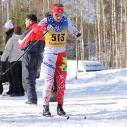 Skiing 90 km - Andrea Dupont (513)