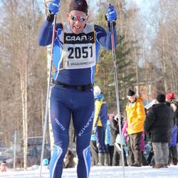 Skiing 90 km - Björn Waldebäck (2051)