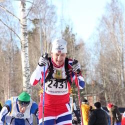 Skiing 90 km - Alexander Eide (2431)