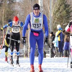 Skiing 90 km - Börge Moen (1237), Rasmus Nielsen (2169)