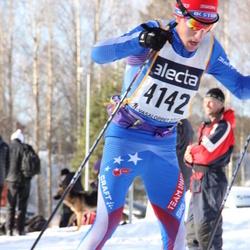 Skiing 90 km - Erling Mattsson (4142)