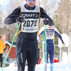 Skiing 90 km - David Stolpe (2078)