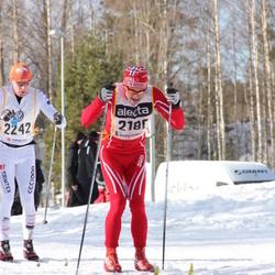 Skiing 90 km - Åge Snerting (2180), Henrik Granström (2242)