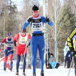 Skiing 90 km - Amund Hognestad Jensen (2361), Alexander Bochkarev (2464)