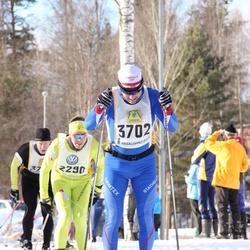 Skiing 90 km - Bjørn Kvaal Hjermann (2290), Pål Winberg (3702)