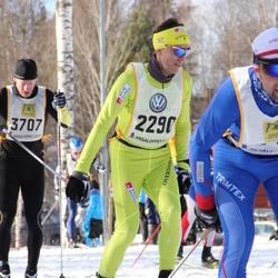 Skiing 90 km - Bjørn Kvaal Hjermann (2290), Oskar Sagne (3707)
