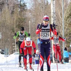 Skiing 90 km - Edvard Linderson (3325)