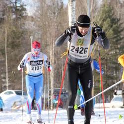 Skiing 90 km - Hans Tore Riibe (2103), David Olsson (2426)