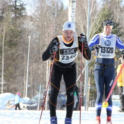 Skiing 90 km - David Jonsson (2340), Michael Gustafsson (13120)