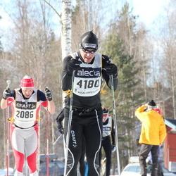 Skiing 90 km - Fredrik Ström (2086), Peter Gustafsson (4180)