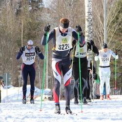 Skiing 90 km - Erik Nissle (2014), Tor Egil Kaasa (2401), Jiri Pokorny (3221), Christian Lundin (3544)