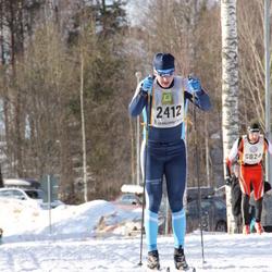 Skiing 90 km - Fredrik Nylund (2412)