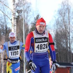 Skiing 90 km - Jean Baptiste Droz-Vincent (1190), Henry Landström (4828)