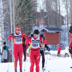 Skiing 90 km - Andre Larsson (3968), Steinar Solhaug (11882)