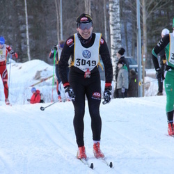 Skiing 90 km - Fredrik Mohall (3049)