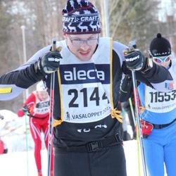 Skiing 90 km - Erik Nygren (2144)