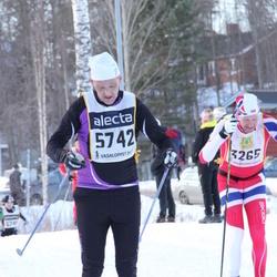 Skiing 90 km - André Borka (3265), Joakim Kallin (5742)