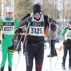 Skiing 90 km - Martin Lasu (3125), Einar Stölde (10327)