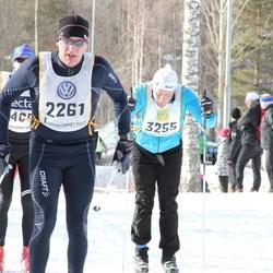 Skiing 90 km - Jan-Erik Töyrä (2261), Peter Karnström (3255)