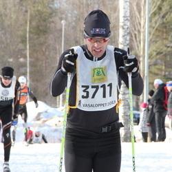 Skiing 90 km - Fredrik Petersson (3711)