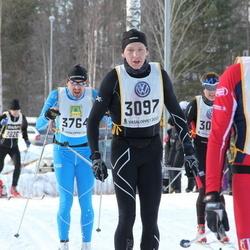 Skiing 90 km - Martin Lutnæs (2419), Christer Hellström (3097)