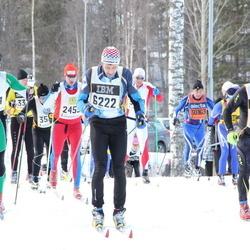 Skiing 90 km - Håkon Breistrand (2214), Tomi Myllys (3699), Christoffer Åshammar (6222)