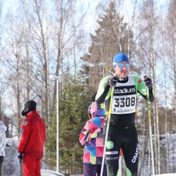 Skiing 90 km - Anders Fryxell (3308)
