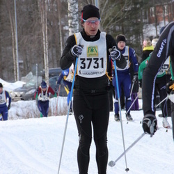 Skiing 90 km - Fredrik Dennbrink (3731)