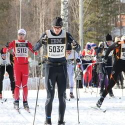 Skiing 90 km - Christer Andersson (4488), Pär Johansson (5032), Christian Tennstedt (5113)