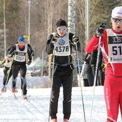 Skiing 90 km - Peter Drottman (4378), Christian Tennstedt (5113)