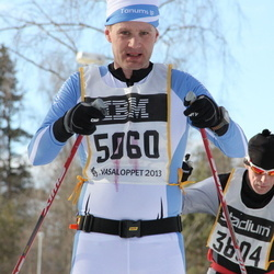 Skiing 90 km - Henrik Pålsson (5060)