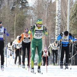 Skiing 90 km - Jonas Alwin (4050), Christian Sörqvist (4258), Jonathan Hedbys (5348)