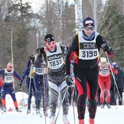 Skiing 90 km - Eivind Olsen (3199), Marc Pettersson (3839)