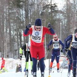 Skiing 90 km - Anders Forsgren (10921), Ole Johannes Myhren (12075)
