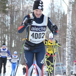 Skiing 90 km - Fredrik Green (4002)