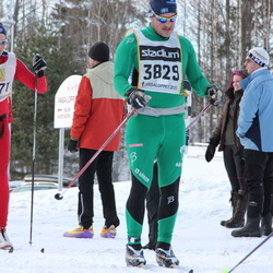 Skiing 90 km - Fredrik Hansson (3829)