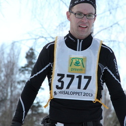 Skiing 90 km - Christian Hellerfelt (3717)